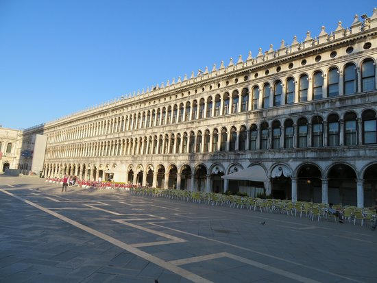 Piazza San Marco: Looking down the square