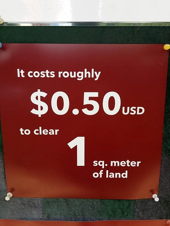 The cost of living - Picture of Cambodia Landmine Museum, Siem Reap