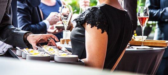 Kaupers Restaurant: Kaupers Kapellenhof -Flying Dinner auf der Dachterrasse