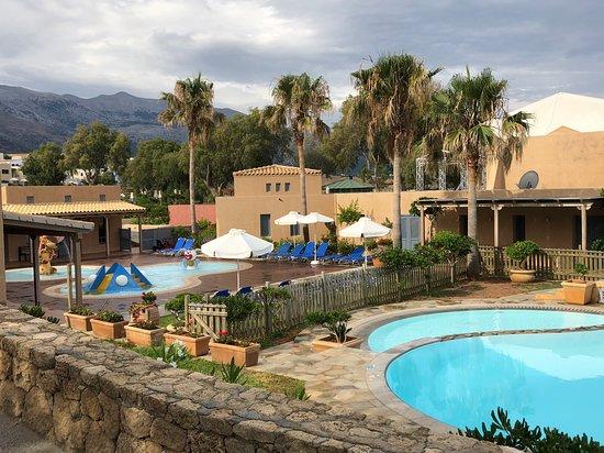 Kalimera Kriti Hotel and Village Resort: Tolle geschlossener Bereich für kleine Kinder und Eltern