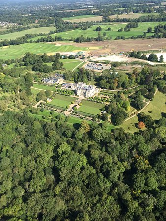 Beaverbrook - Country House Hotel: Beaverbrook aerial view