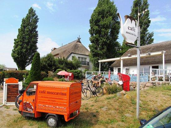 Middelhagen, Jerman: Blick auf das Café