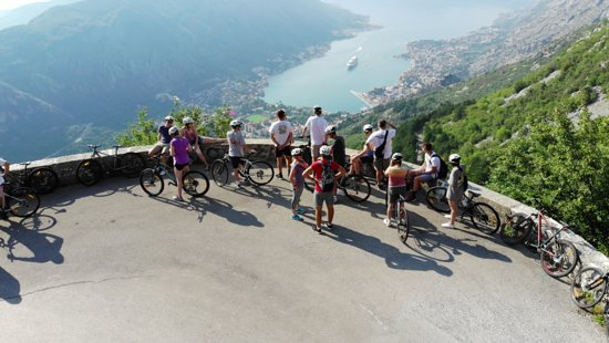 Tivat, Montenegro: View from Turn 20 on the 25Turns Bike Tour