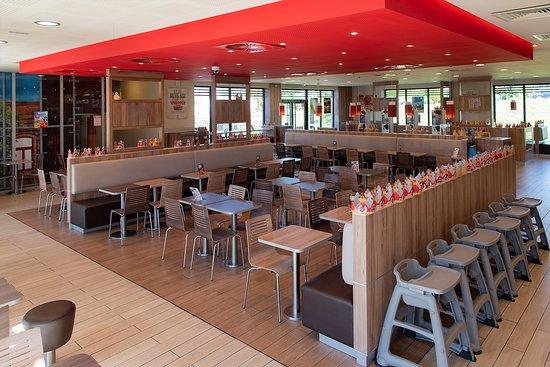 restaurant burger king dans saint parres aux tertres avec cuisine am ricaine
