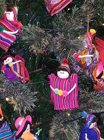 Casa Andina Premium Miraflores: Lovely Xmas decorations