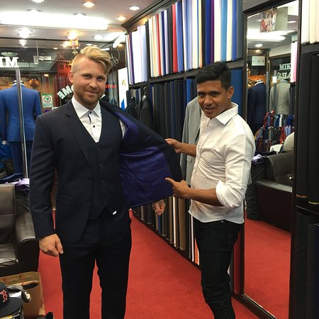 Mike Tailors: Happy customer