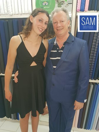 Sam Boutique Custom Tailor: Custom made dress and suit by Sam Boutique
