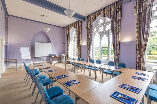 Hinsley Hall: Edmund Sykes Conference Room - capacity 50 pax theatre style