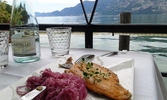 ristorante Bella Iseo: trota