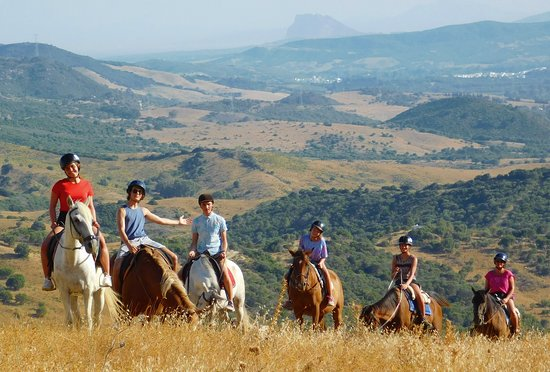 Casares, Spain: 1 hr countryside ride