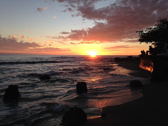 Ho`okena Beach Park: Ho'okena Beach Park sunset
