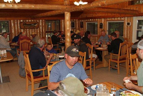 Minor Bay Lodge: Lodge dining room