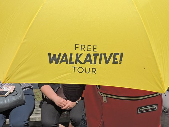 Lublin, Poland: Look for the guide with yellow umbrella