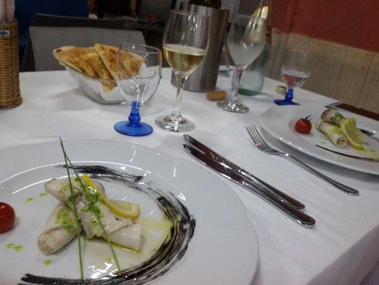 Rosengarten: Involtini di pesce spada marinato