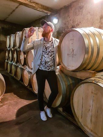 Mellasat Vineyards: Cellar Tour