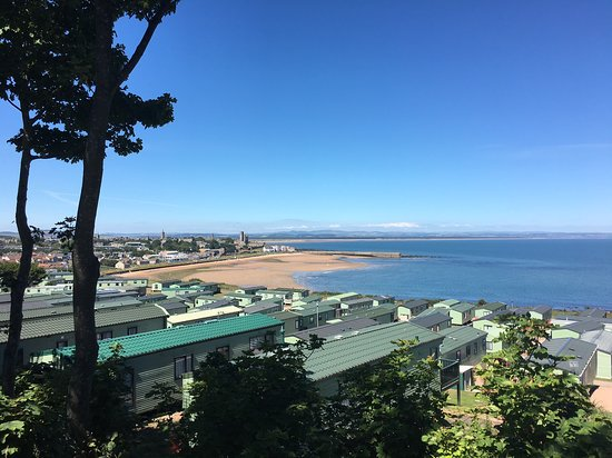 East Sands from St Andrews Holiday Park