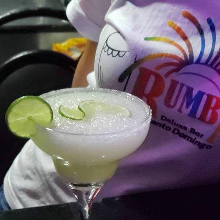 Rumba Deluxe Bar & Lounge Santo Domingo: Lemon Margarita Rum Touch..
