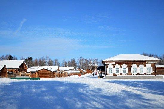 Taltsy, Russia: the village