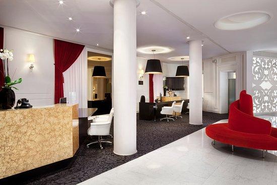 Hotel Colón Gran Meliá: Recepción