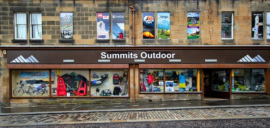 Paisley, UK: Summits Shop Front
