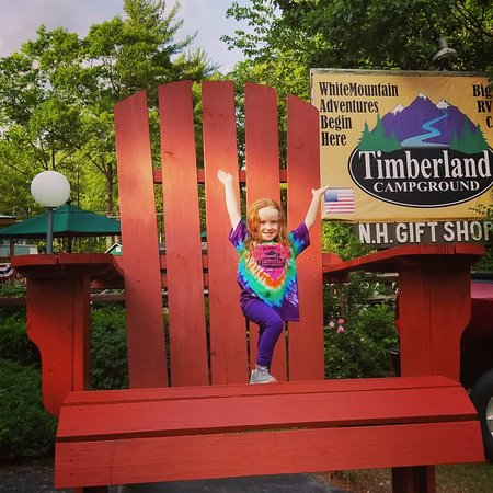 Shelburne, Нью-Гэмпшир: Timberland Campground