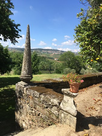 Vilarinho de Sao Romao, Portugal: view from back yard