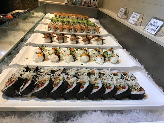 Panda Mami: Sushi plates