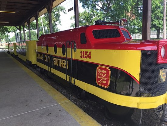 Pittsburg, KS: Since 1953 the train at Kiddieland has been a family favorite