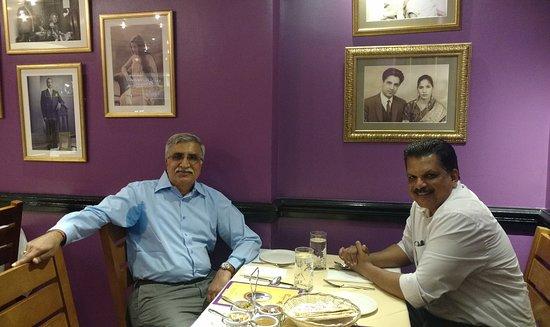 Punjab: Interior of the restaurant