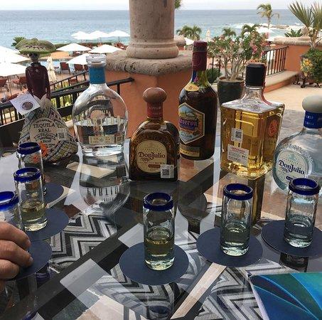 Sheraton Grand Los Cabos Hacienda del Mar: Tequila tasting