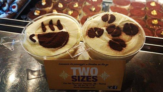 Two Sizes -Tiramisù in Rome-: TwoSizes