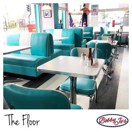 Bobby Jo's  Diner: The New Restaurant Floor