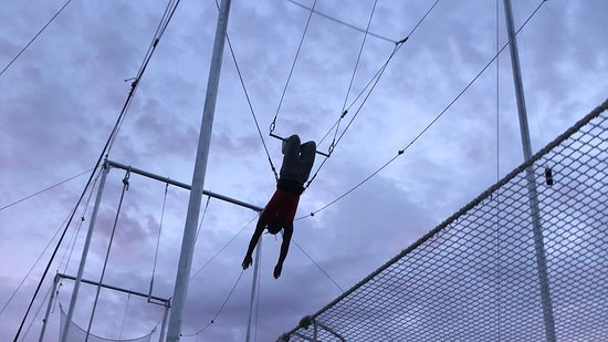 Nomi Flying Trapeze: Miami Flying Trapeze - Knee Hang