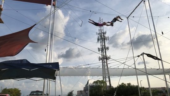 Nomi Flying Trapeze: Miami Flying Trapeze - Layout catch no lines