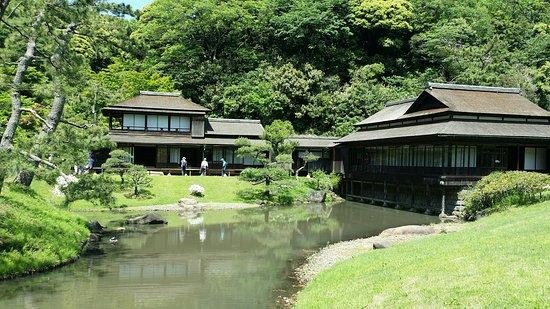 Sankeien Gardens: Historic