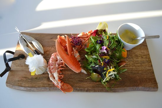 Keyneston Mill, Home of Parterre Fragrances: Lobster Salad