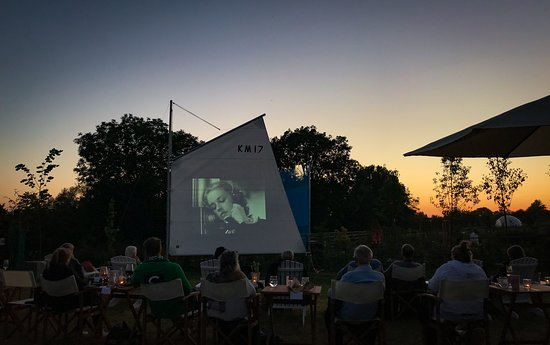 Keyneston Mill, Home of Parterre Fragrances: Outdoor Cinema