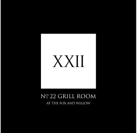 The Fox and Willow No22 restaurant: No.22 Grill Room At The Fox & Willow