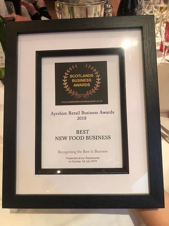 The Fox and Willow No22 restaurant: Best New Food Business Award 2018