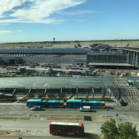 Clarion Hotel Copenhagen Airport: View from the 9th floor