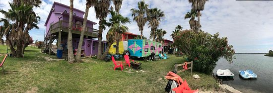 Overview of Crystal Beach Cabanas - Crystal Beach, TX