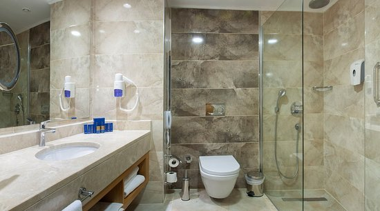 Beautiful Bathin Deluxe Suite With Bidet Walk In Shower And