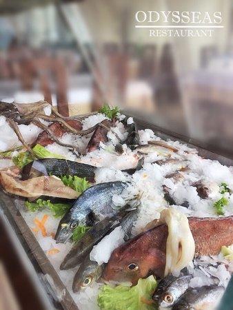 Odysseas Restaurant: Fresh fish