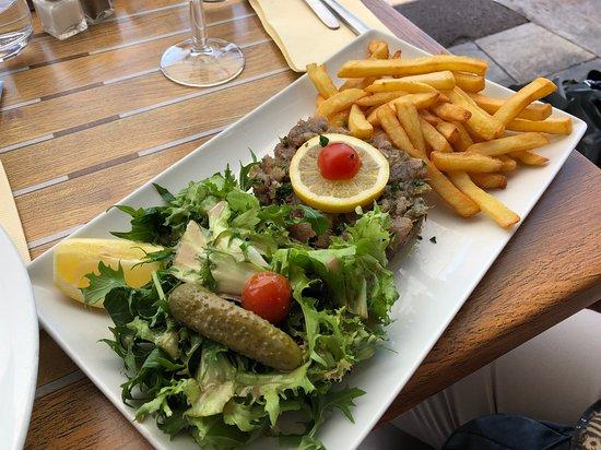 Restaurant l'Hippocampe: Tuna Poke Salad
