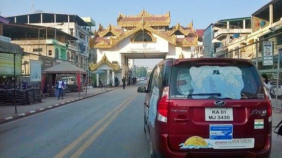 Myawadi, Myanmar: Myanmar Thailand Border