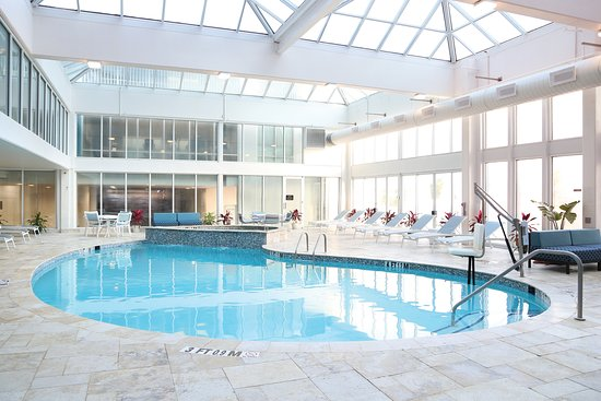 Pool - Picture of DoubleTree by Hilton Ocean City Oceanfront - Tripadvisor