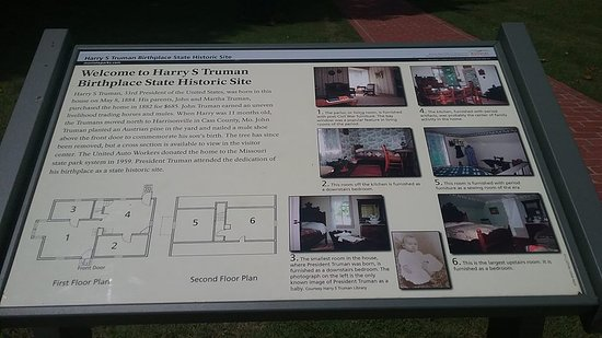 Harry S. Truman Birthplace - Lamar, Missouri