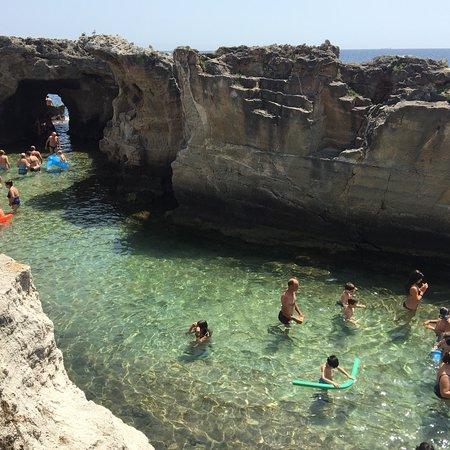 Un luogo magico foto di piscina naturale di marina serra tricase tripadvisor - Marina serra piscina naturale ...