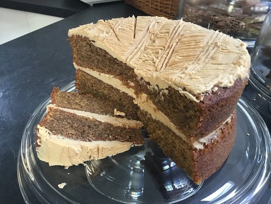 Alness, UK: Delicious Coffee Cake