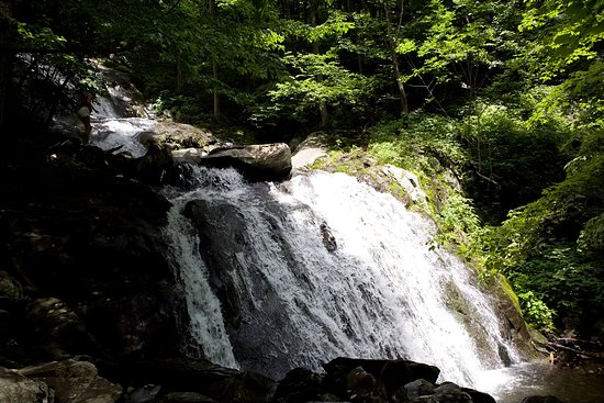 Wintergreen Resort: A falls we hiked to.